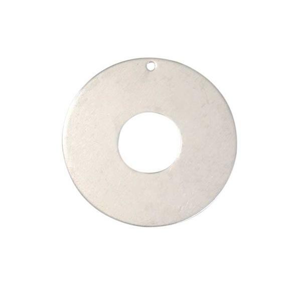 Pendentif - donut, Ø 50 mm, alu