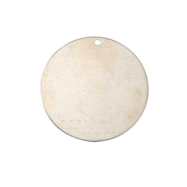 Pendentif - rond, Ø 50 mm, alu