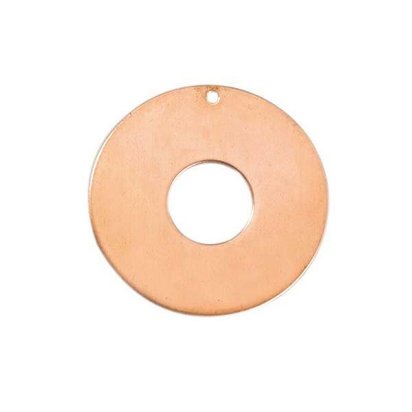 Hanger - donut, Ø 50 mm, koper