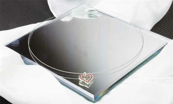 Draad-collier, gesloten - enkelvoudig, ca. 45 cm