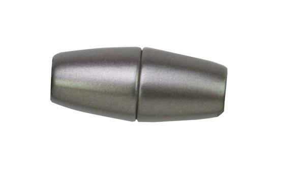 Power-magneetsluiting - graniet zilverkleurig