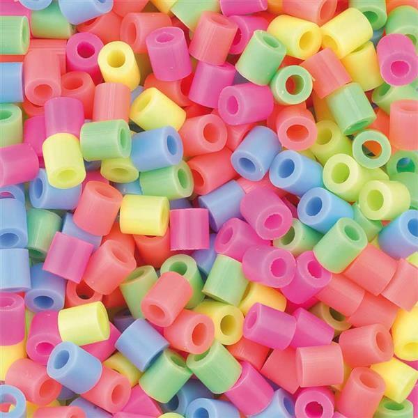 Strijkkralen - 5.000 stuks, neon