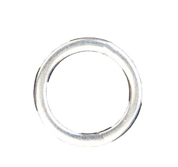 Hanger ring - zilver, 40 mm