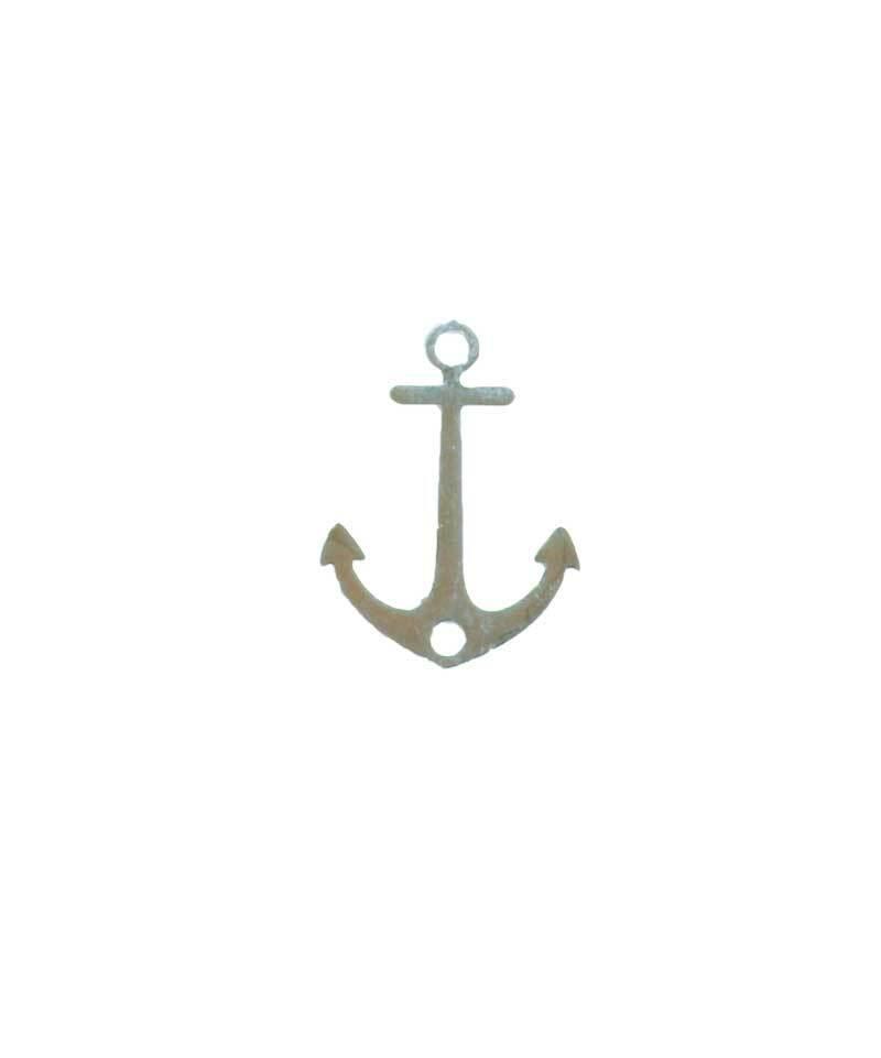 Pendentif ancre - 18 mm, argent