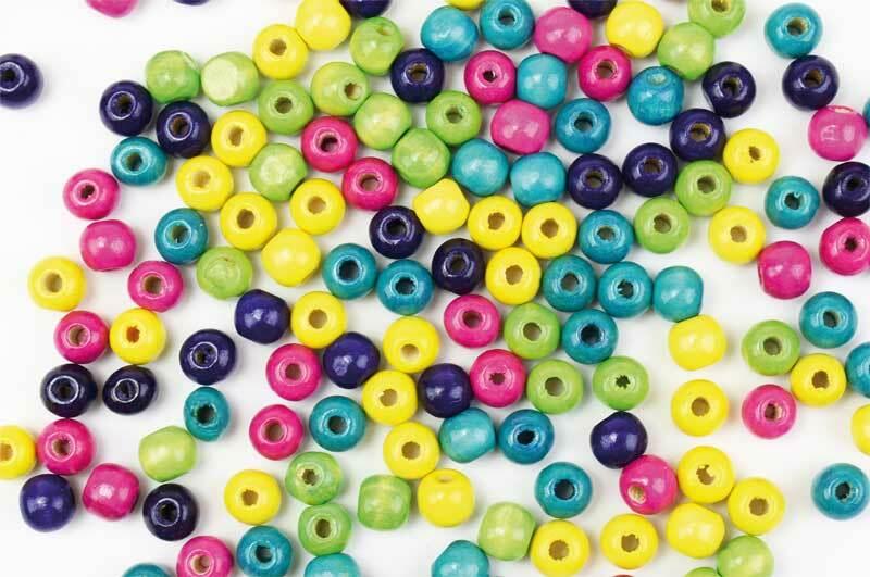 Perles en bois tendance, 450 pces
