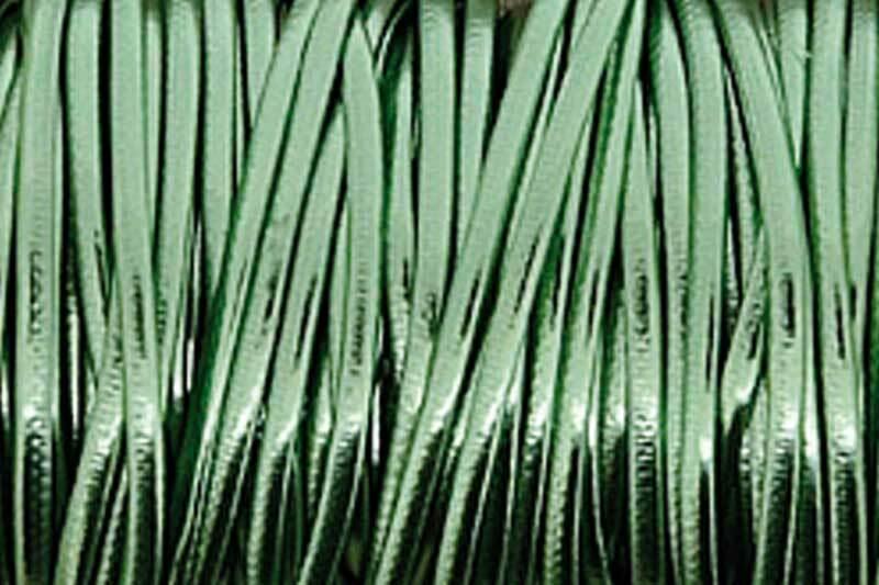Metallickordel Ø 2 mm - 2 m, hellgrün