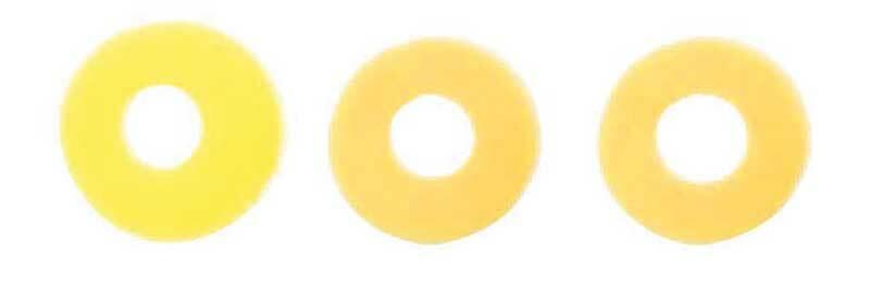 Mélange perles Katsuki - 60 pces, jaune