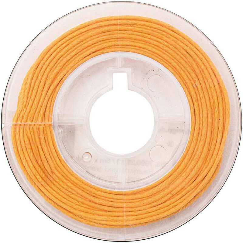 Corde en coton Ø 1 mm - 5 m, orange