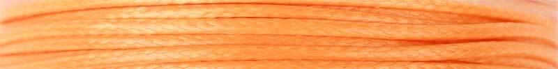 Corde en coton Ø 1 mm - 5 m, orange