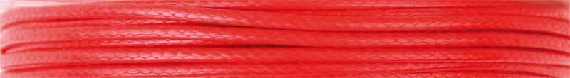Corde en coton Ø 1 mm - 5 m, rouge