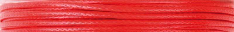 Katoenen koord Ø 1 mm - 5 m, rood