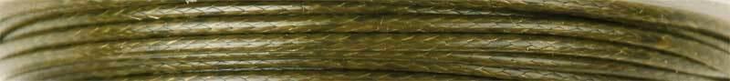 Baumwollkordel Ø 1 mm - 5 m, oliv