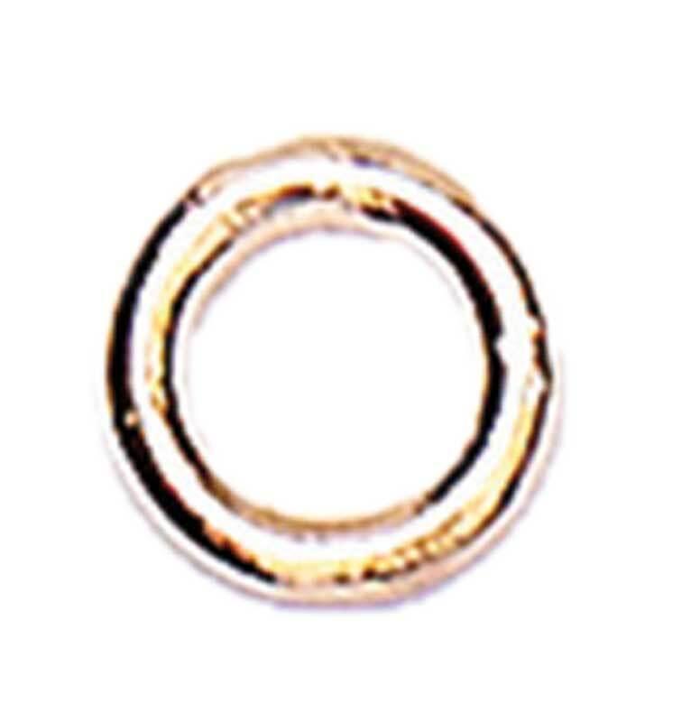 Zwischenringe - 10er Pkg., Ø 7 mm, roségoldfarbig