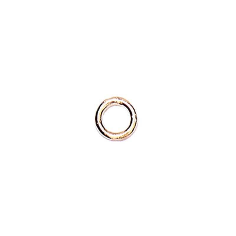 Tussenringen - 10 st., Ø 7 mm, roségoudkleurig