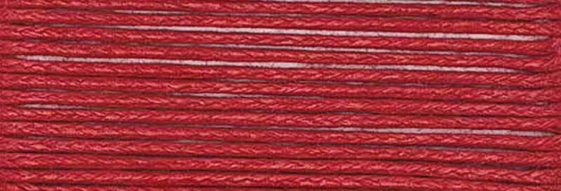 Katoenband Ø 1 mm - 5 m, rood