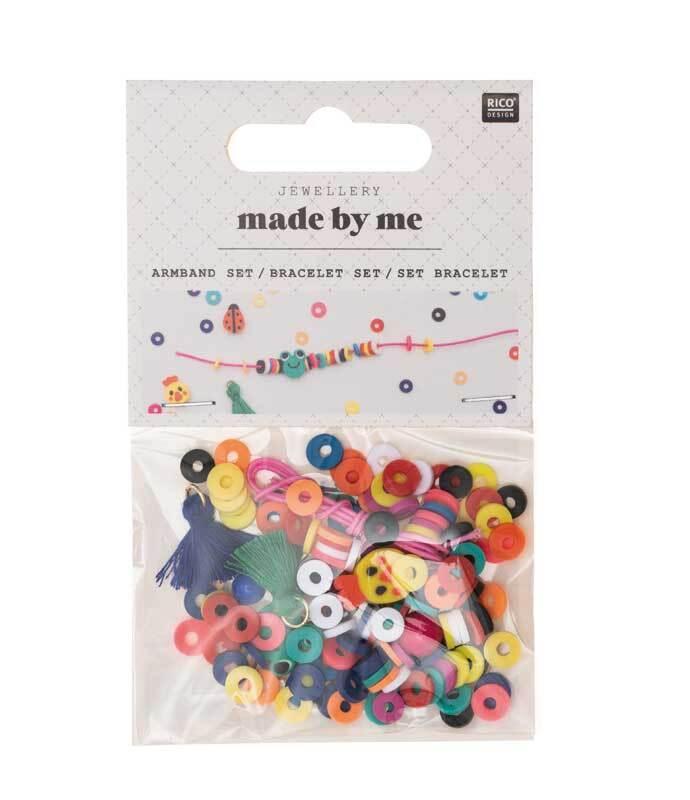 Set pour bracelet, multicolore