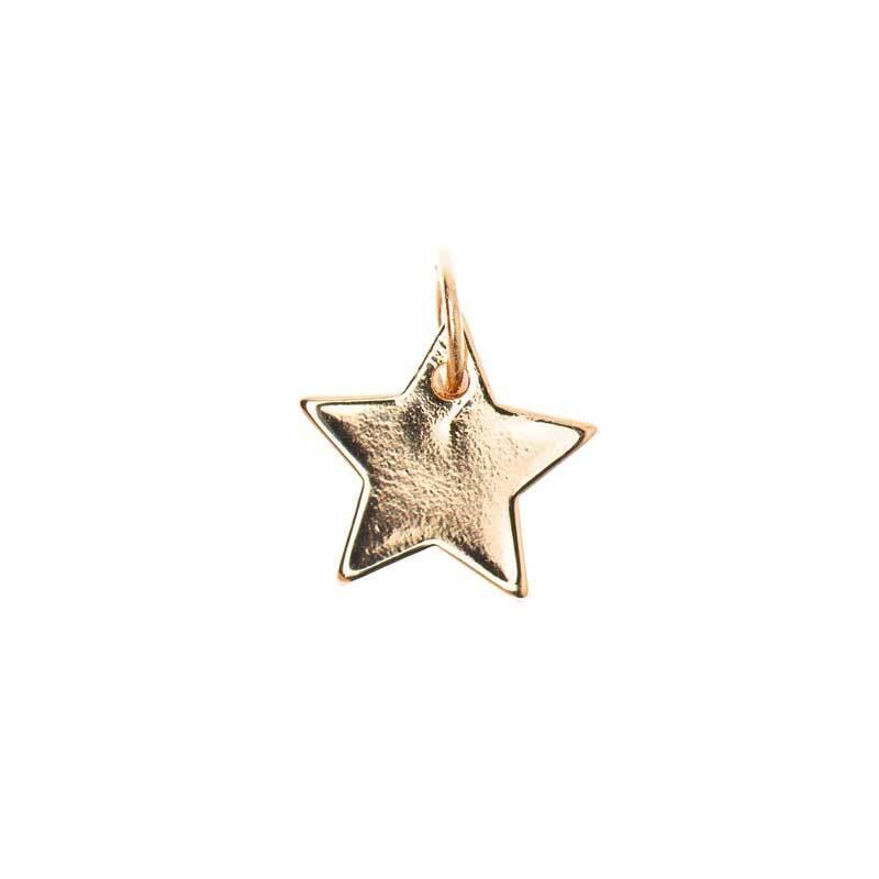 Pendentif étoile - 10 mm, doré