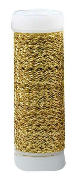 Bouillondraad effect - 25 g/spoel, goud