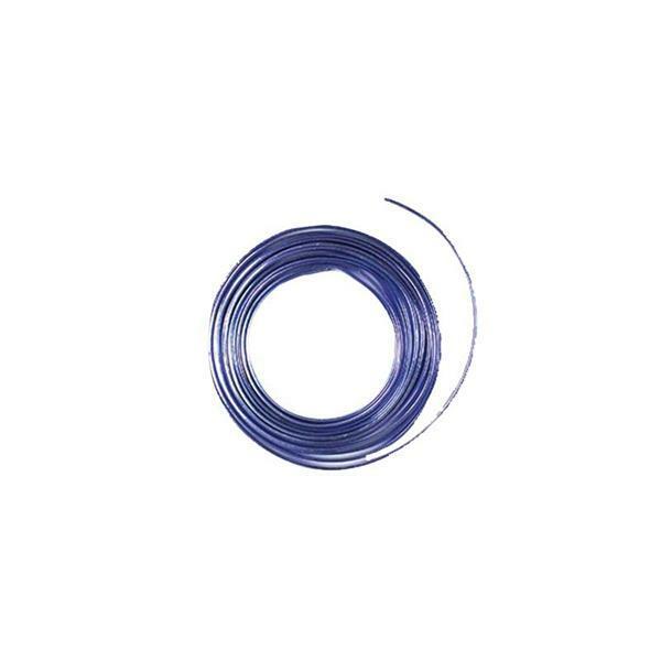 Aludraht flach - 2 m, 5 mm, flieder