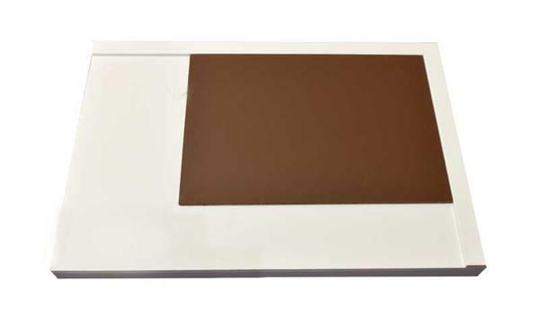Werkblad van polystyreen - A4, voor linkshandigen