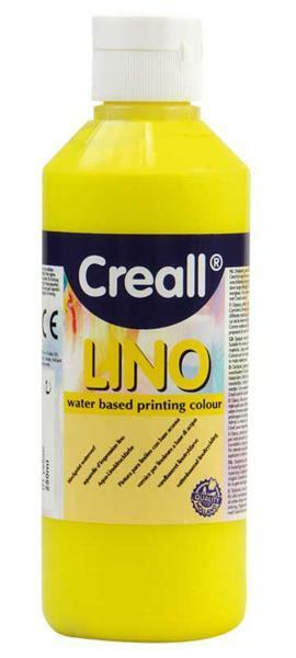 Creall®-lino Encre de linogravure - 250 ml, jaune