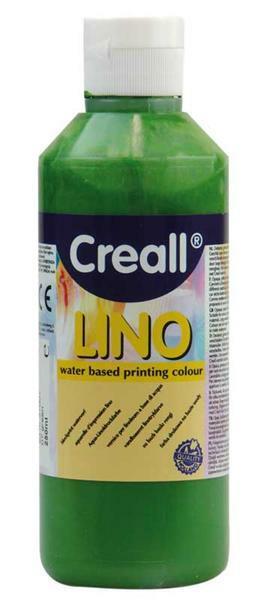 Creall®-lino drukverf - 250 ml, groen