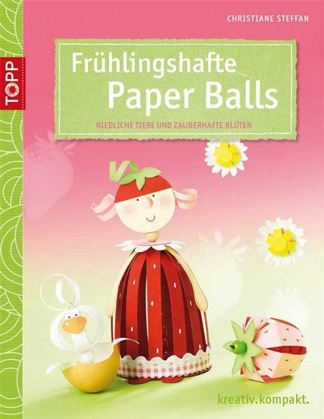 Buch - Frühlingshafte Paper Balls