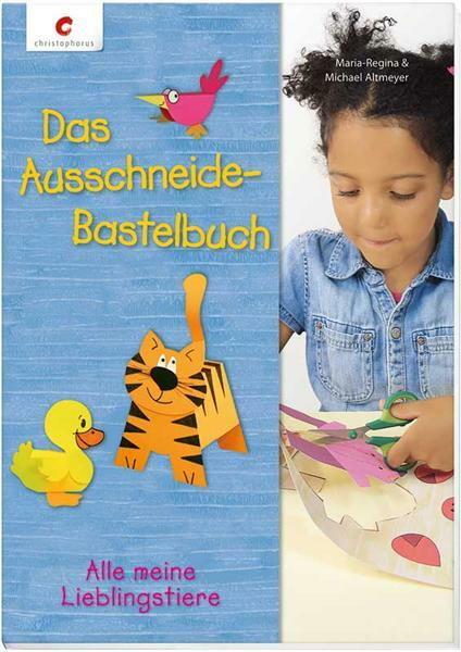 Livre - Das Ausschneide-Bastelbuch Lieblingstiere
