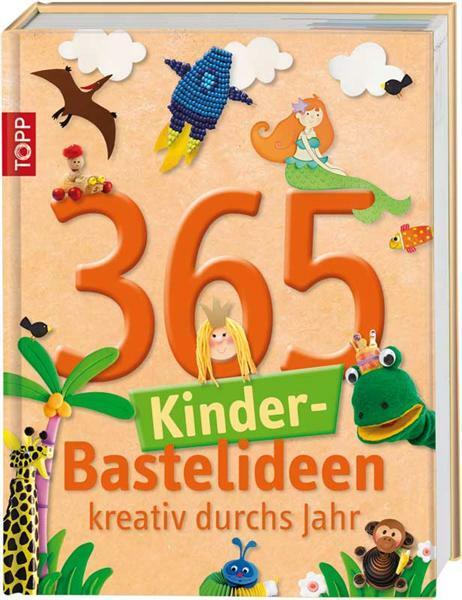 Buch - 365 Kinder-Bastelideen