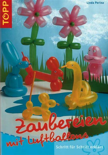 Buch - Zaubereien mit Luftballons