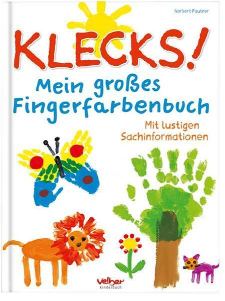 Buch - Mein großes Fingerfarbenbuch