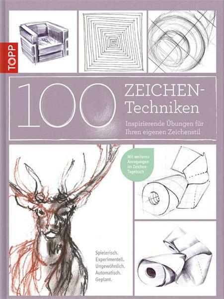 Boek - 100 Zeichen-Techniken