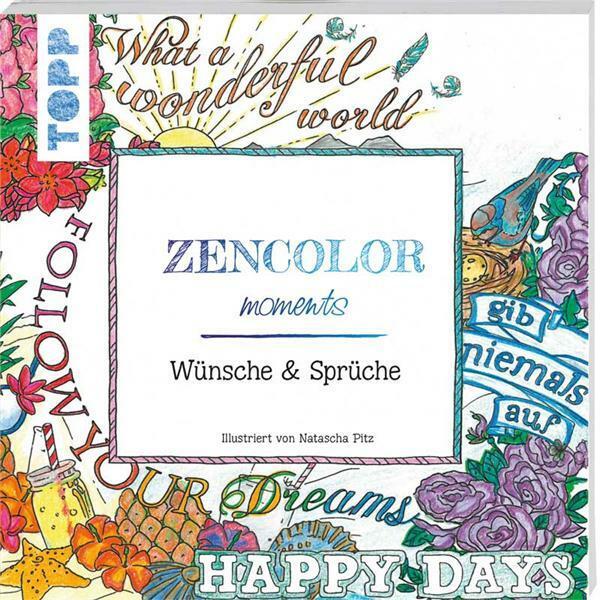 Buch - Zencolor moments Wünsche & Sprüche