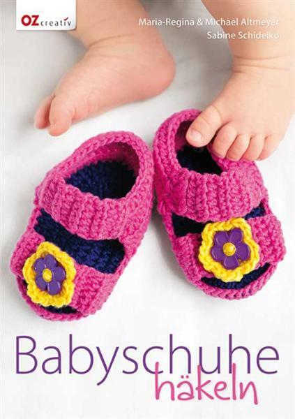 Buch - Babyschuhe häkeln