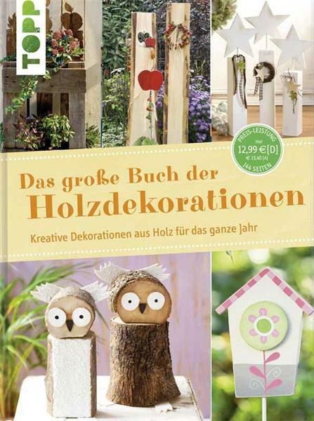 Boek - Das große Buch der Holzdekorationen