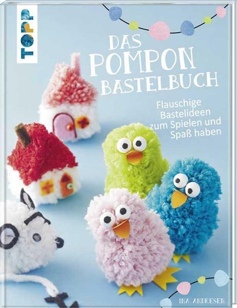 Boek - Das Pompon Bastelbuch