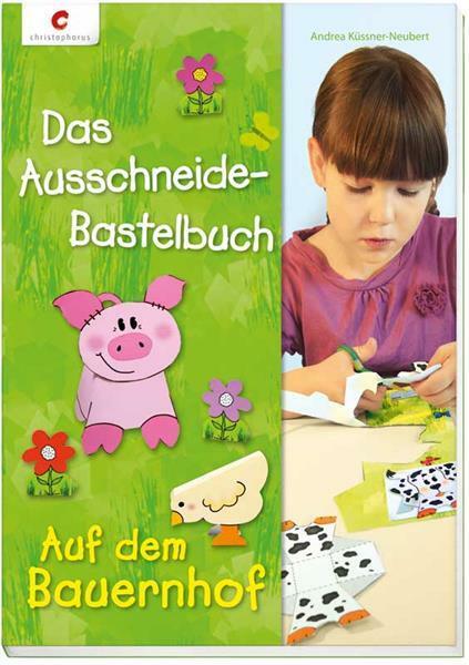 Boek - Das Ausschneide-Bastelbuch, Bauernhof