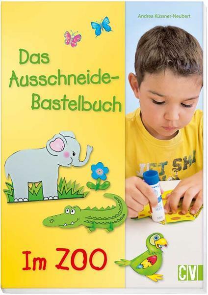 Boek - Das Ausschneide-Bastelbuch, Zoo
