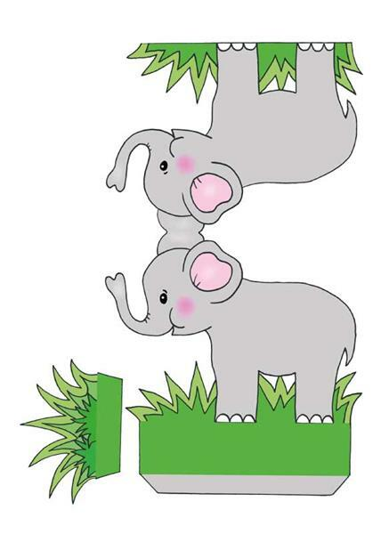 Livre - Das Ausschneide-Bastelbuch - zoo