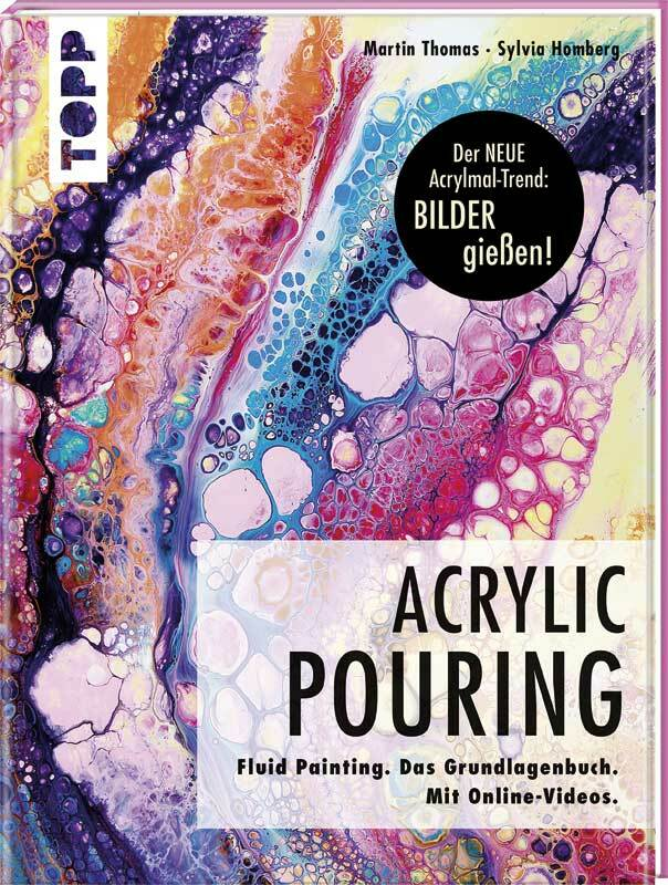 Boek - Acrylic Pouring - Grundlagenbuch