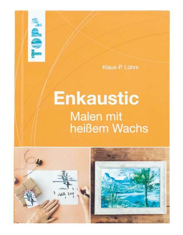 Boek - Enkaustic, Malen mit heißem Wachs