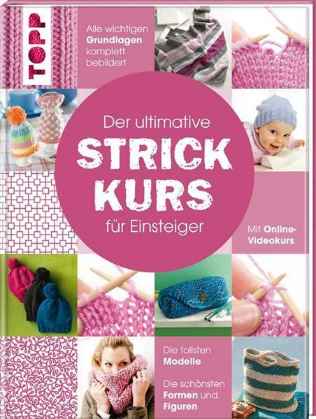 Livre - Der ultimative STRICKKURS für Einsteiger