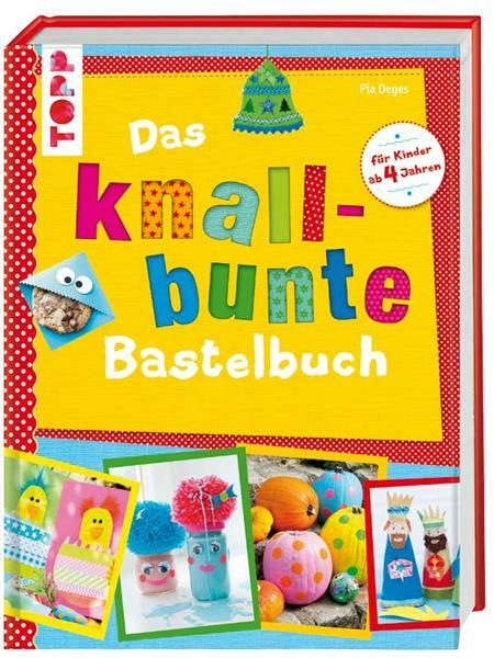 Boek - Das knallbunte Bastelbuch