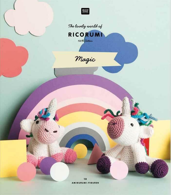 "Boek - instructieboekje Ricorumi ""Rumimagic, DE/NL"