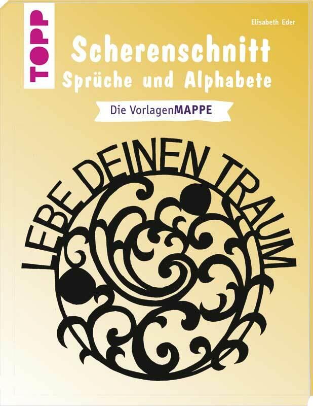 Boek - Scherenschnitt Sprüche & Alphabete