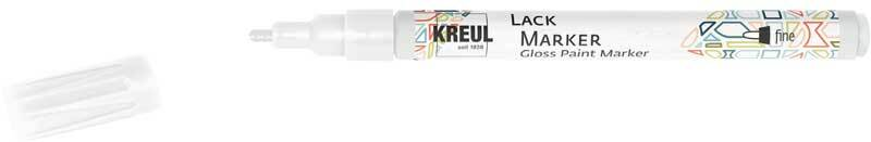 Lack Marker - 1 - 2 mm, weiß