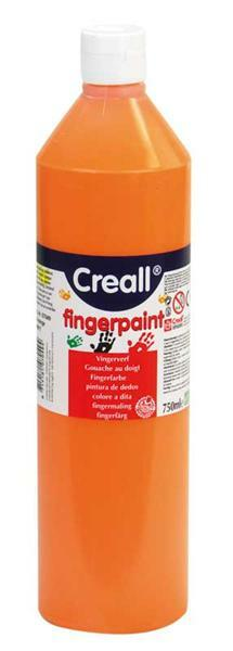 Kindervingerverf - 750 ml, oranje
