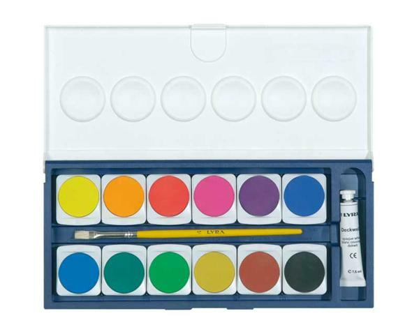 Lyra Etui de couleurs, 24 couleurs