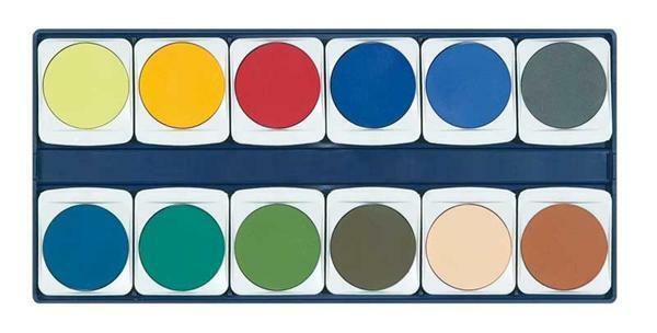Lyra verfdoos, 24 kleuren