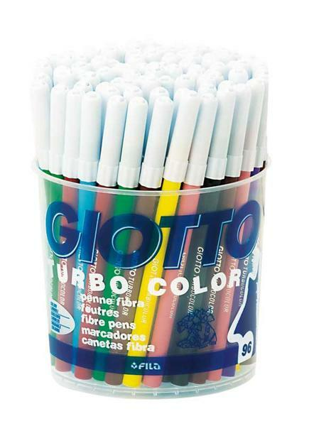Giotto Turbo Color - viltstiften, 96 stuks